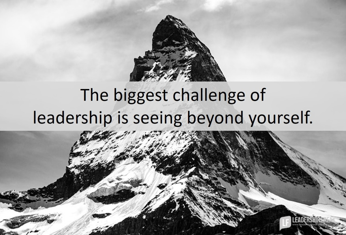 succeeding the biggest challenge of leadership leadership freak
