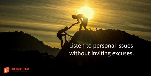 listen-to-personal-issues-without-inviting-excuses