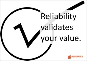reliability-validates-your-value