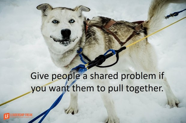 give-people-a-shared-problem-if-you-want-them-to-pull-together