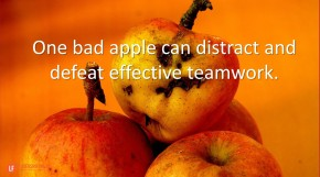 one-bad-apple-can-distract-and-defeat-effective-teamwork