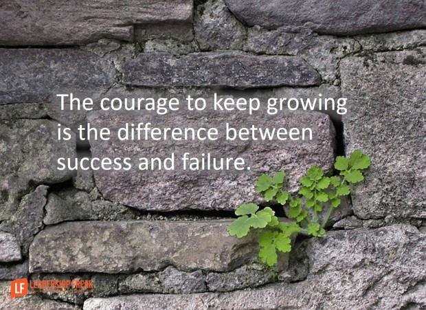 the-courage-to-keep-growing-is-the-difference-between-success-and-failure