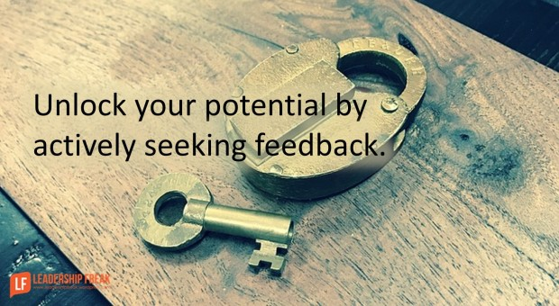 unlock your potential by actively seeking feedback