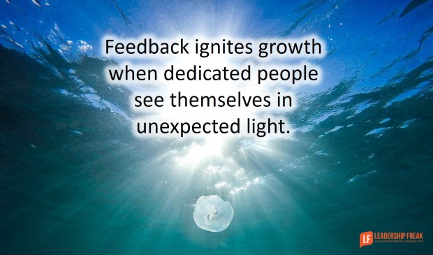 how to make negative feedback a positive thing