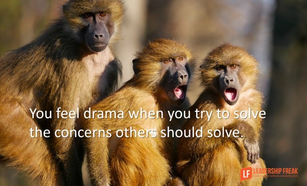 you feel drama when you try to solve the concerns others should solve v2