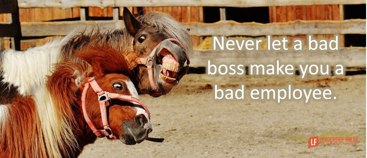Never Let A Bad Boss Control Your Life And Limit Your
