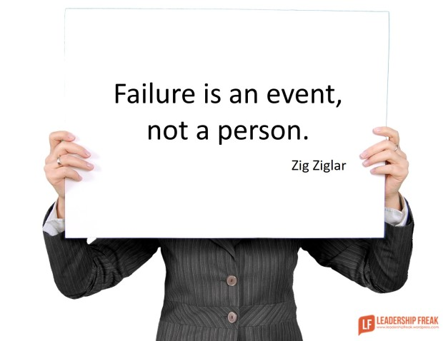 failure is an event not a person
