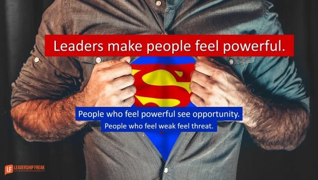 fearful leaders hoard control  u2013 courageous leaders give