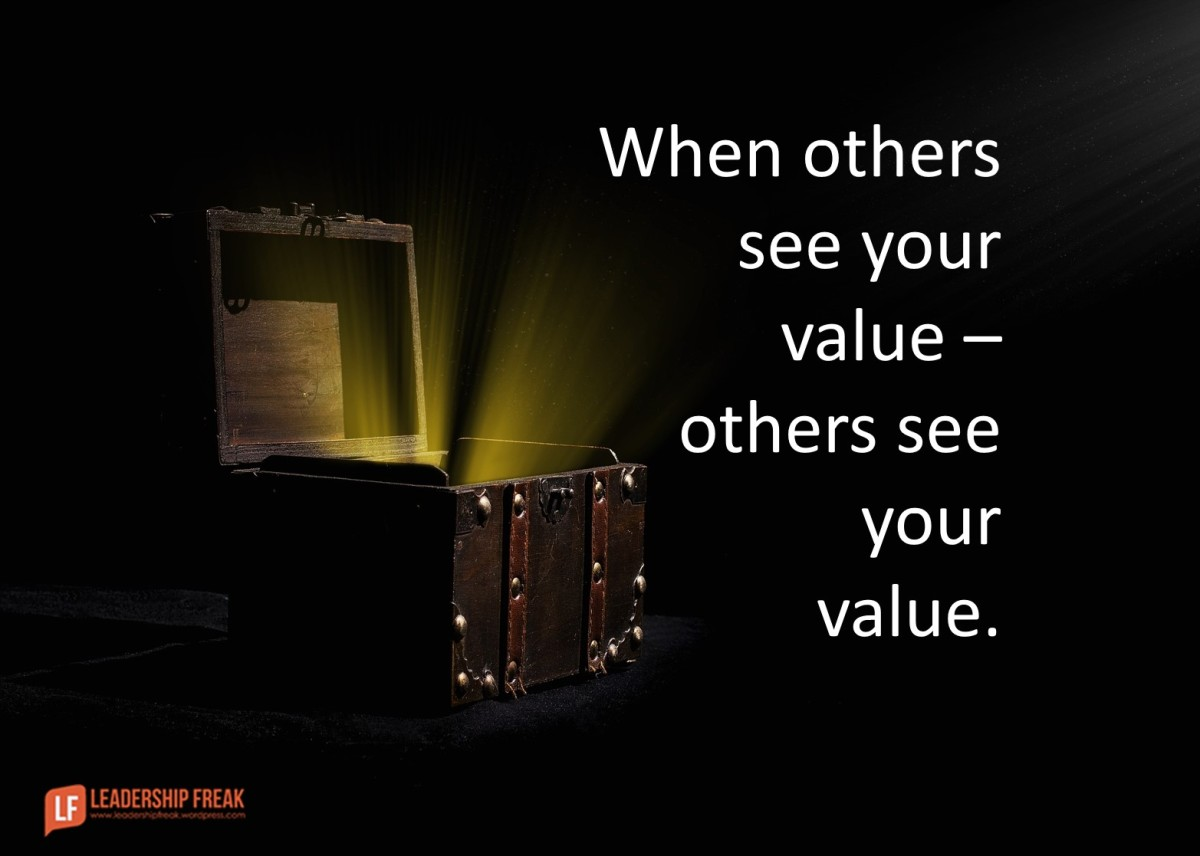 When Others See Your Value Others See Your Value