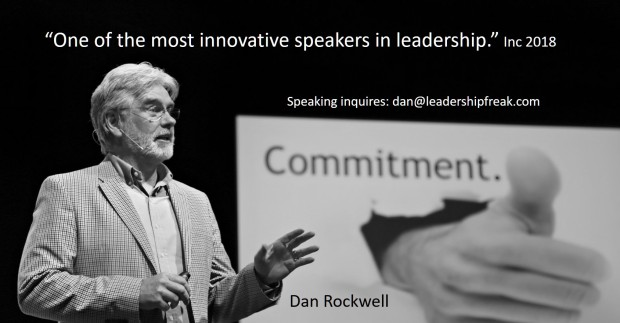 one of the most innovative speakers in leadership