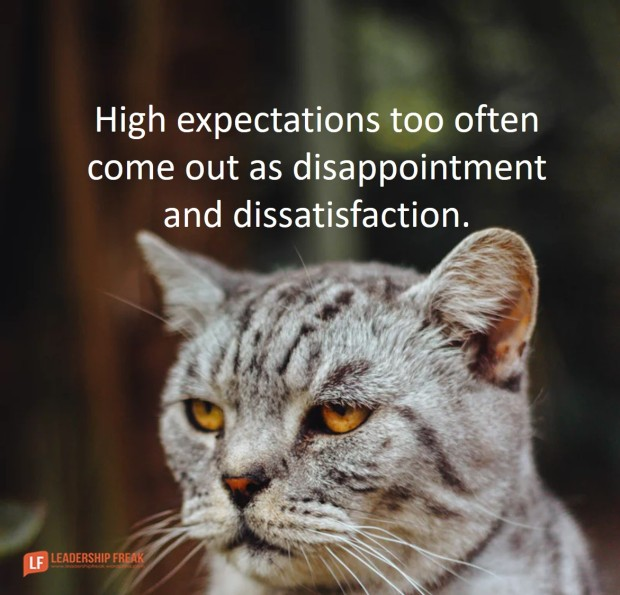 When High Expectation Comes Out as Criticism and Complaint