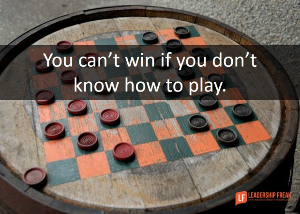 You can't win if you don't know how to play