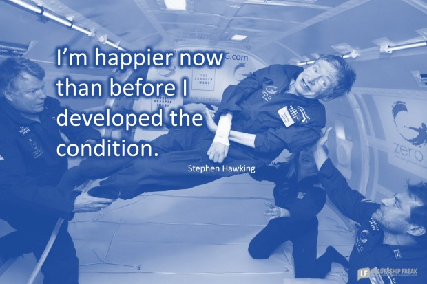 Stephen Hawking on Happiness and Expectation | Leadership Freak