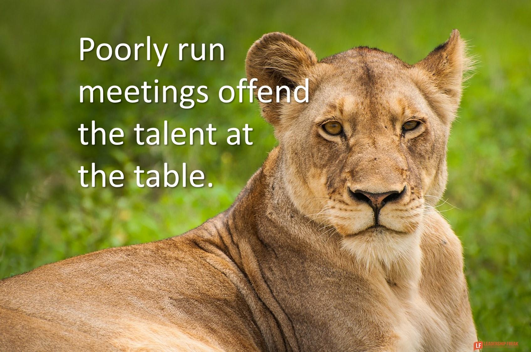 3 Words that Make Meetings Great