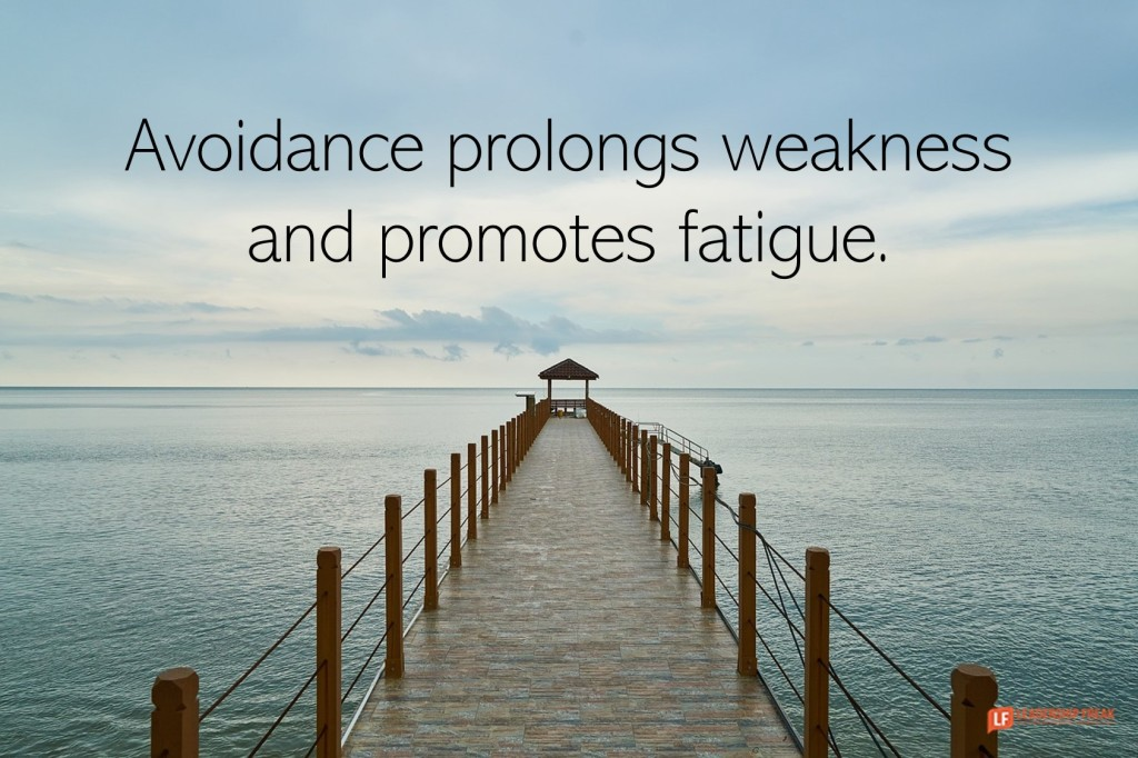 Long dock.  Avoidance prolongs weakness and promotes fatigure.