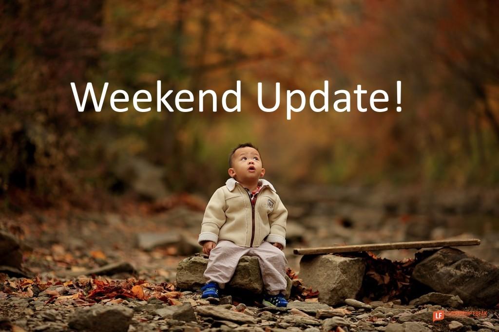 Fall scene.  Weekend Update